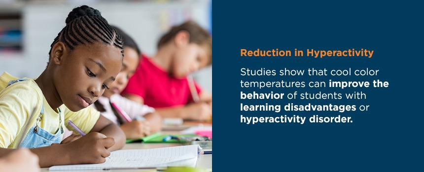 reduction in hyperactivity